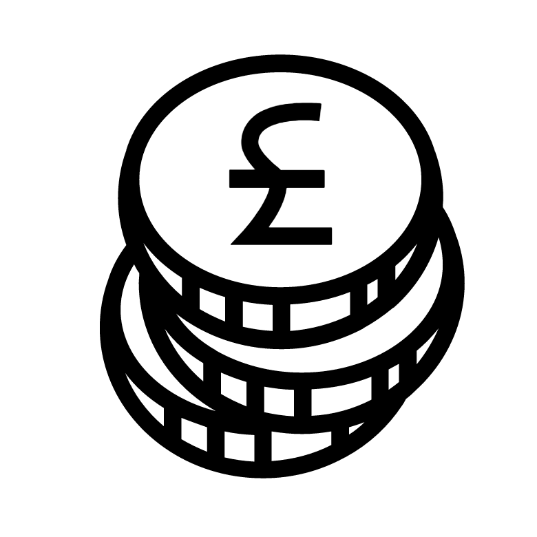 Finance logo by By BomSymbols from the Noun Project
